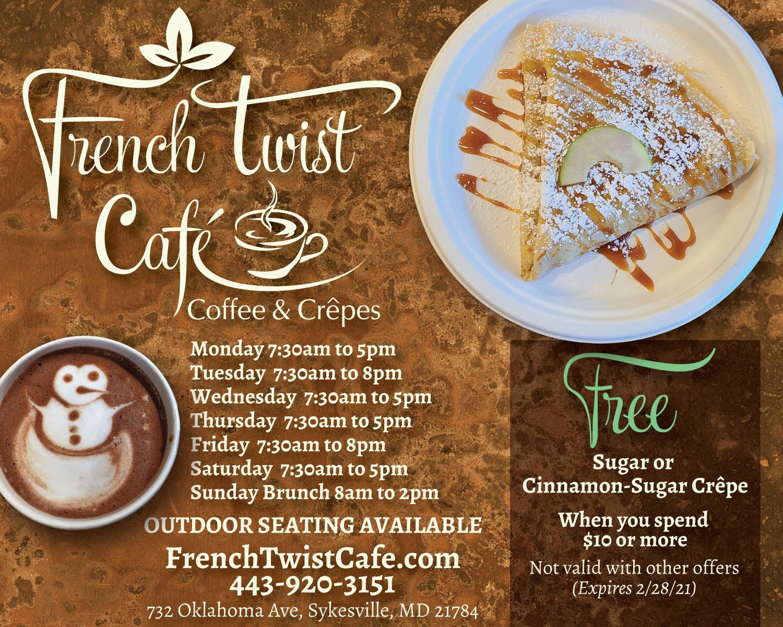 My Carroll Direct French Twist ad